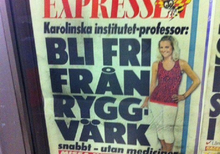MediYoga i Expressen