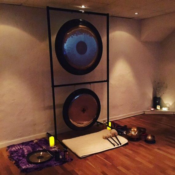 Gongbad – Ljudresa som Läkning och Avslappning – Lör 4:e maj kl 10-13