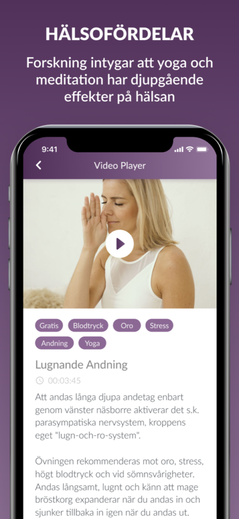 Yoga hemma med vår yogaapp - ManaYoga vår app för ett starkt immunförsvar!