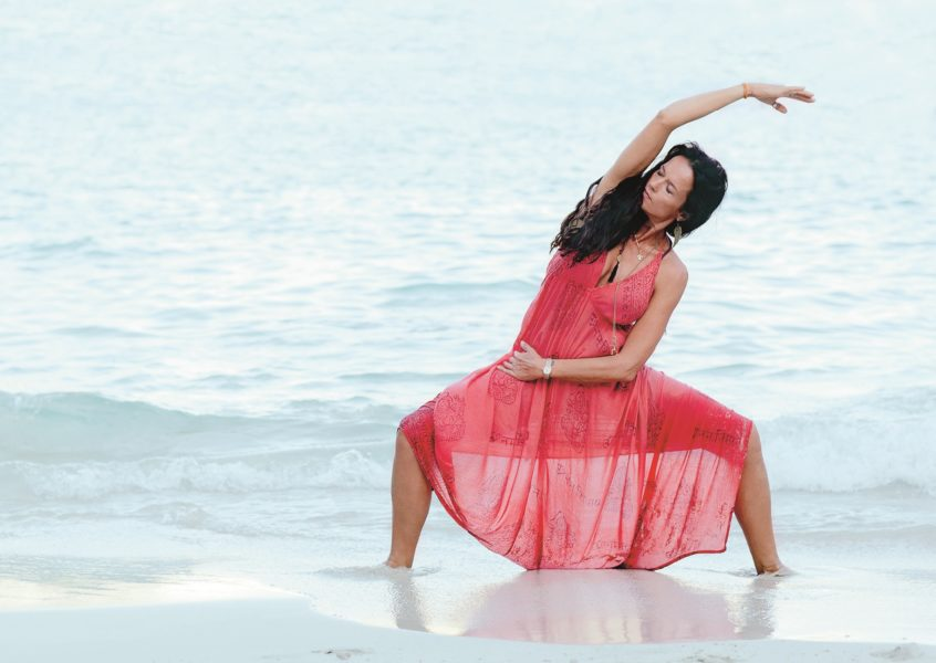 Magic Yoga Flow med Malin Berghagen tisdagar 17.30 på YogaMana Center Östermalm